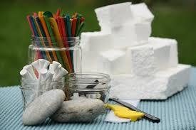 polystyrene crafts
